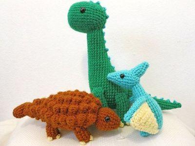 Amigurumi Knitting TOP 15 Crochet Critters – T Rex Amigurumi ... | 301x400