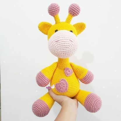 Amigurumi Girafa em crochê no Elo7 | Bela Bimba Crochet (85C0C9) | 415x415