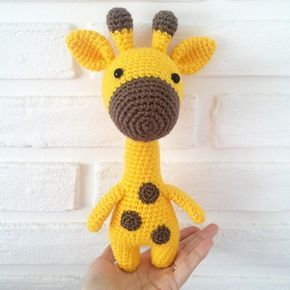 Girafa Amigurumi. Videotutorial. (com imagens) | Bichinhos de ... | 290x290