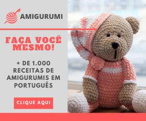 RECEITAS DE AMIGURUMI EM PORTUGUÊS