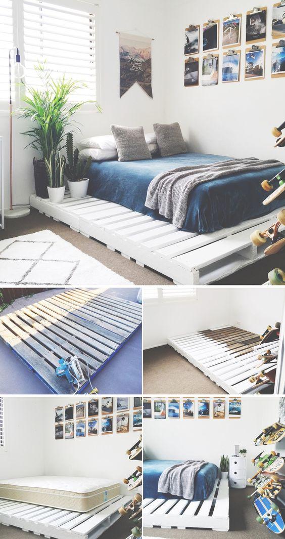 cama de pallets 0