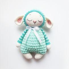 Amigurumi ovelha top grande no Elo7 | Mix Rô (8F5641) | 243x243